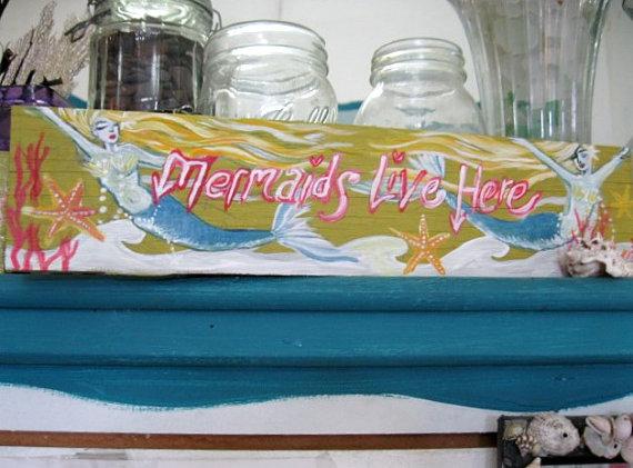 mermaid lives here
