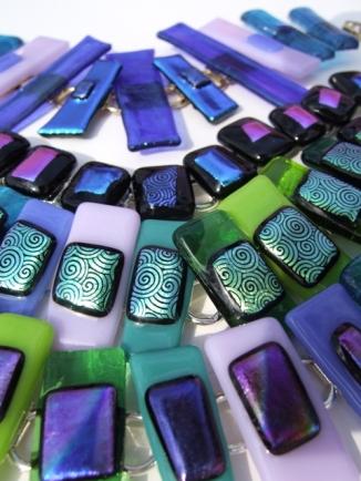 fused glass bracelets
