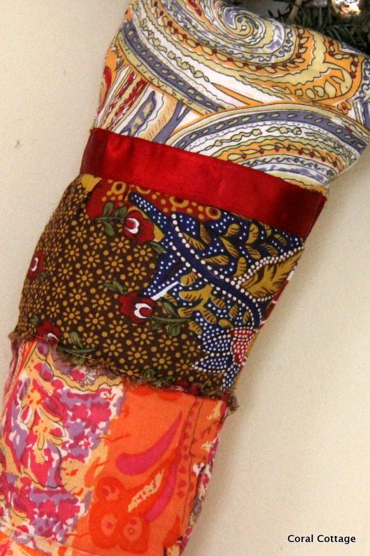 Boho Gypsy stocking