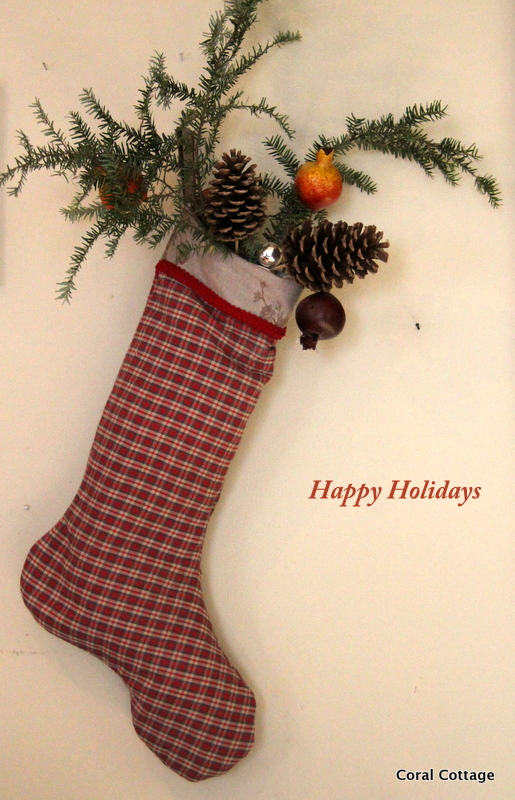Traditional Plaid stocking