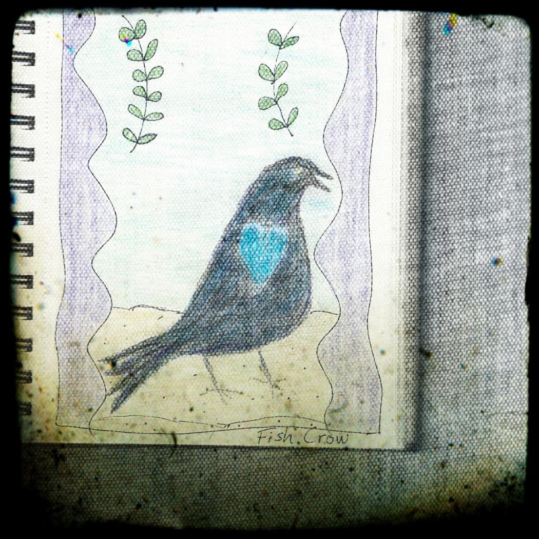 fish crow pixlr