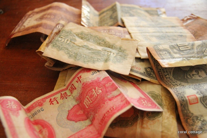 Chinese Currency from the 1940's