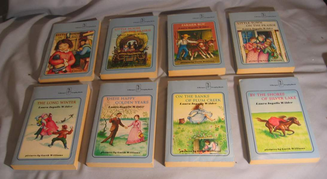 BookSet - Little House On The Prairie3