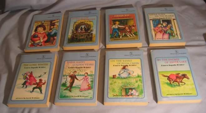 BookSet - Little House On The Prairie3