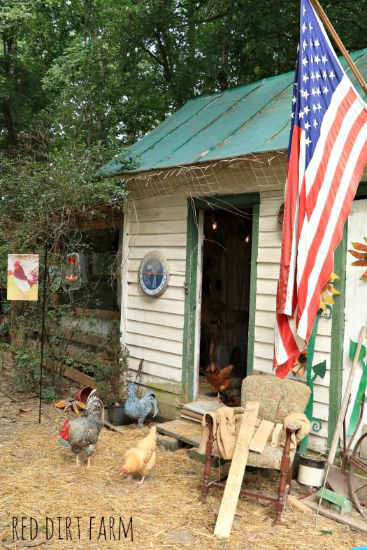flag at hen house 2