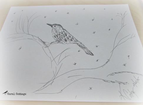 folk art sketches