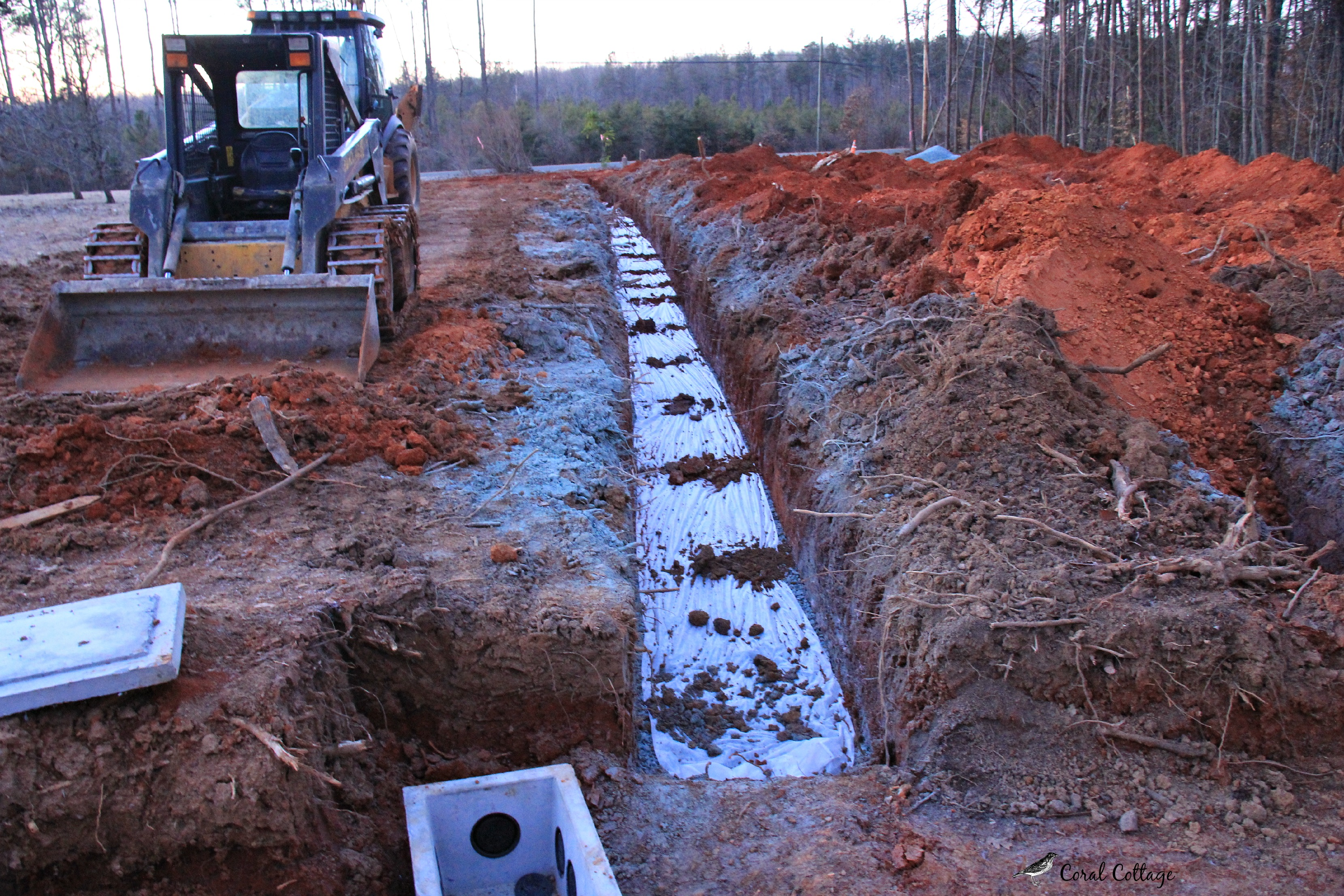 Septic system red dirt farm for Cottage septic systems