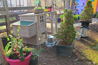 Lucy and Ethyl's hen house