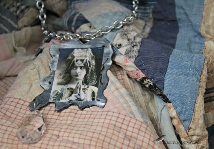 found object necklace