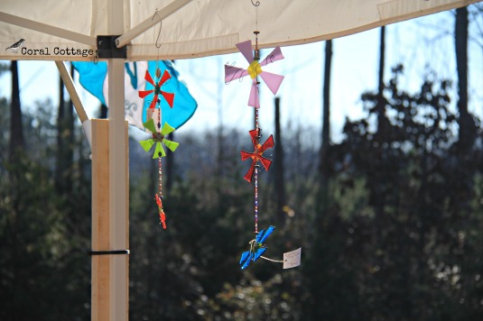 fused glass daisy chain