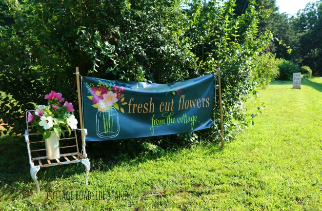signage and flowers 2