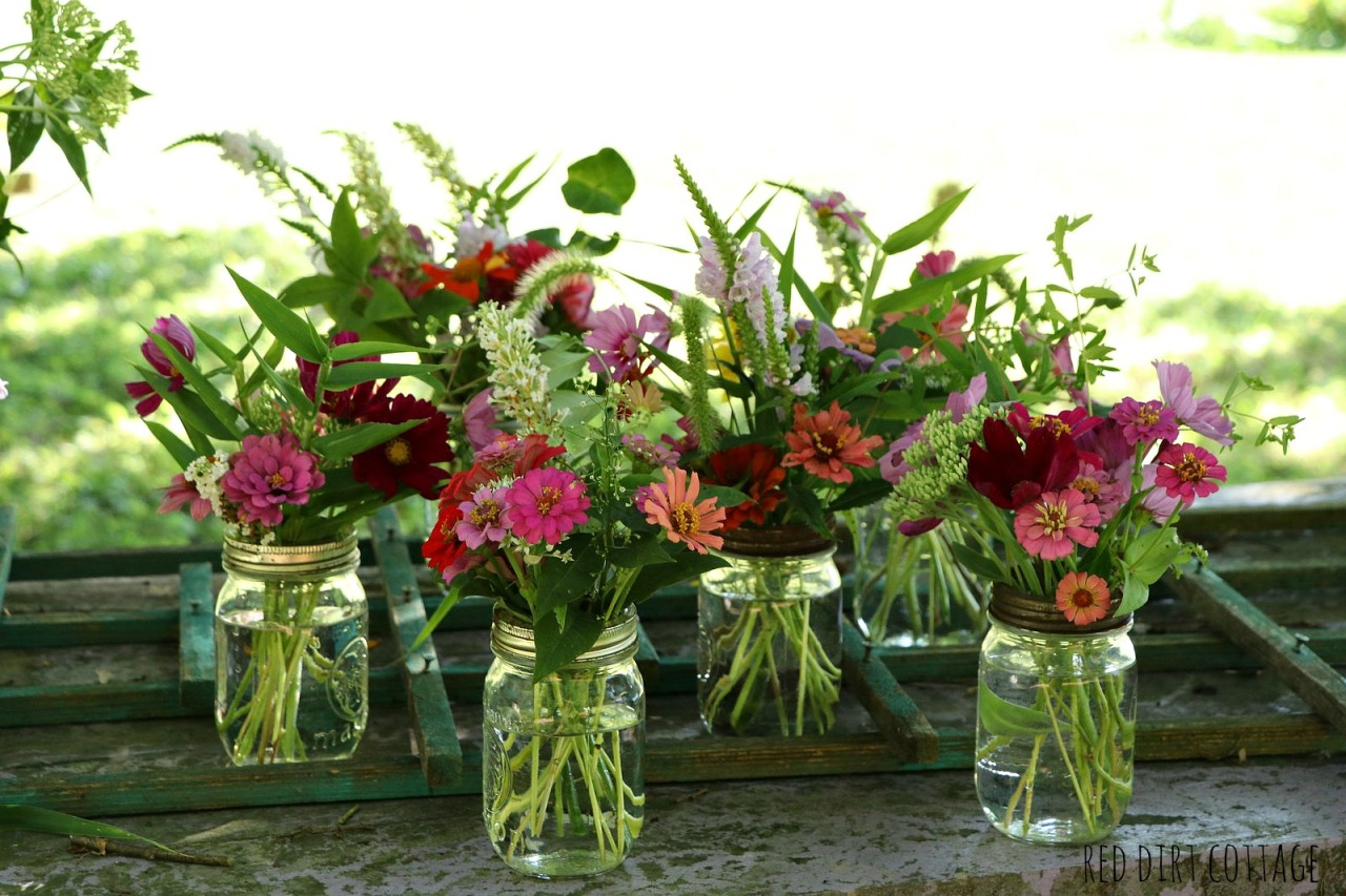 flowers-in-jars