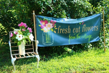 sign at farmstand