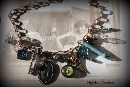 Secrets Assemblage Ncklace