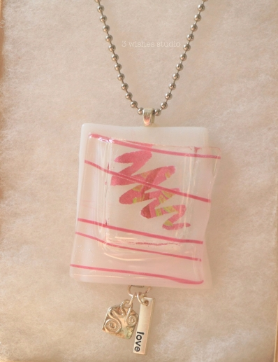 Love pocket necklace