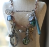 Secret #6 assemblage necklace