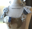 Rollin' in the Loot assemblage necklace by Nightbird Creations
