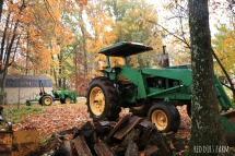 our deere tractor
