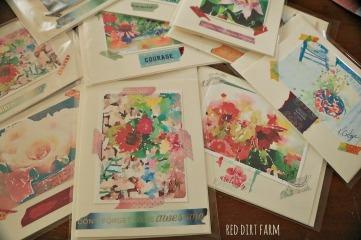 watercolor cards rdf
