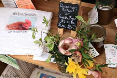 flowers at the stand