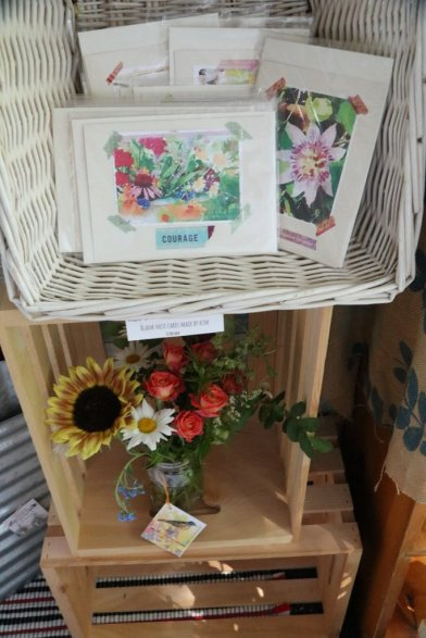 Cards and Flowers for purchase