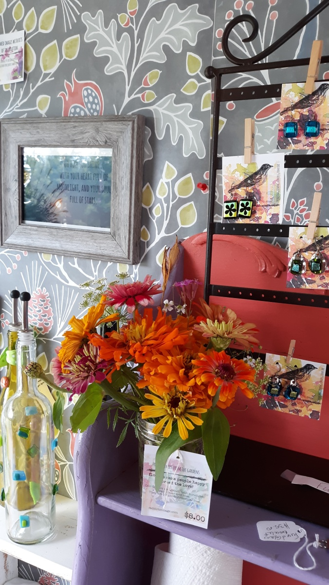 Art and flowers