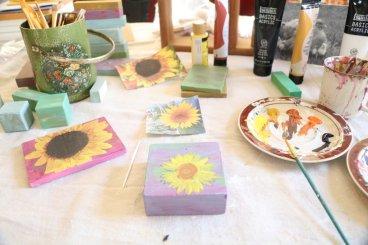 sunflower painting 2