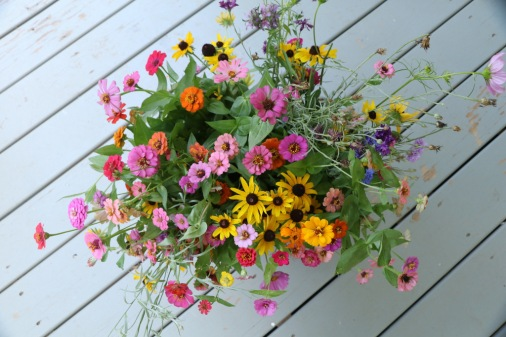 Flowers From the Farm Gardens